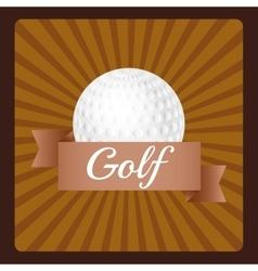 Golf sport game vector