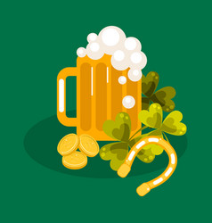Irish st patrick festival vector