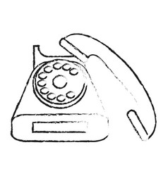 isolated phone design vector image vector image