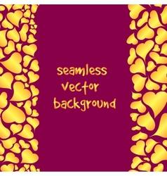 seamless happy valentines background vector image