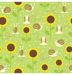Summer seamless background vector