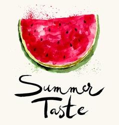 Summer taste vector