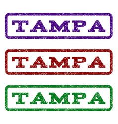 Tampa watermark stamp vector