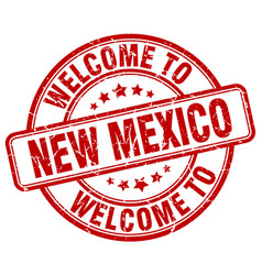 welcome to new mexico vector image
