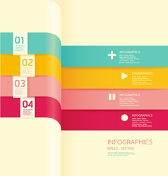 Modern soft color design banner vector
