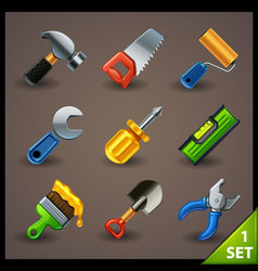Tools icon set-1 vector