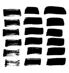 Hand-drawn ink collection vector