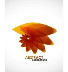 Autumn leaves nature concept vector