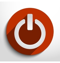 On off switch icon vector