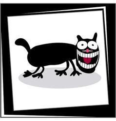 Funny Cartoon Dog Card vector image