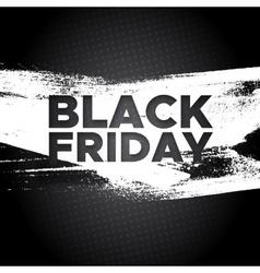 Black friday promo banner background vector