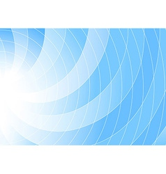 Blue colored swirl background - abstraction vector image