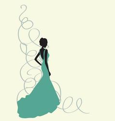 bridal shower2 vector image