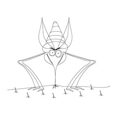 Mosquito design vector image vector image