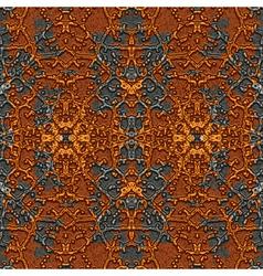 Rusty metal pattern vector