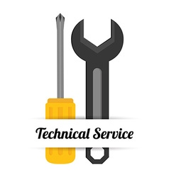 Technical service design vector