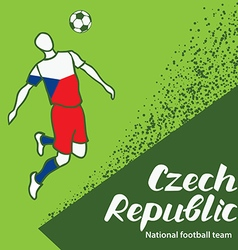 Czech republic 4 vector