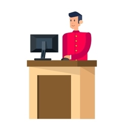 Detailed character people vector