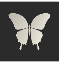 Butterfly conceptual icon vector image vector image