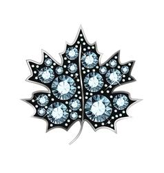 Diamond maple leaf vector