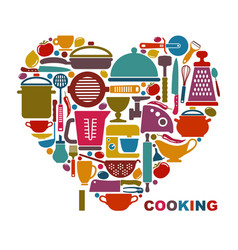 I like cooking vector
