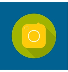 Icon of the old camera vector