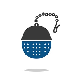 Tea infuser vector image