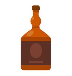 cognac icon cartoon style vector image