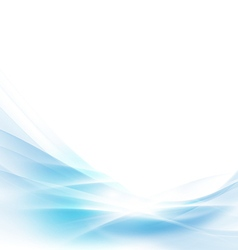 Abstract spread blue wave background vector
