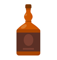 Cognac icon cartoon style vector