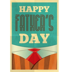 fathers day poster suit vector image vector image