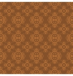 Seamless texture on brown vector