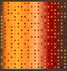 Glowing square pattern seamless gradient vector