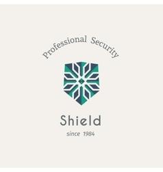 Shield security logo vector