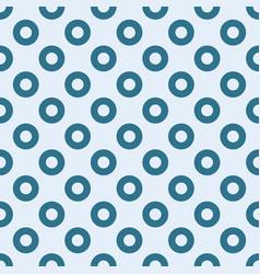 Blue circles seamless pattern vector