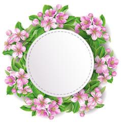 flowering branch4 vector image