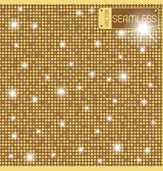 golden shining rounds seamless texture background vector image vector image