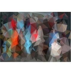Multicolored background vector