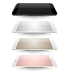 smartphone mockups like iphon vector image vector image