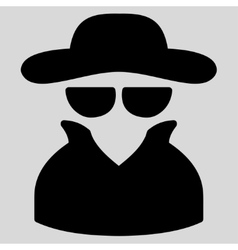 Spy icon from Business Bicolor Set vector image vector image