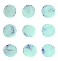Abstract watercolor aquarelle hand draw circle vector image