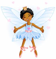 cartoon fairy vector image