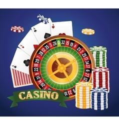 Casino icon desin vector