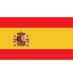 Spain flag image vector