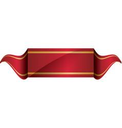 Ribbon icon label design graphic vector