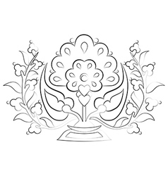 Decorative Background thirty vector image