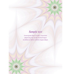 Page border design template background vector image vector image