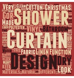 Make a splash with your shower curtains text vector