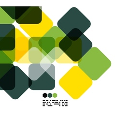 Warm modern color geometric abstract background vector