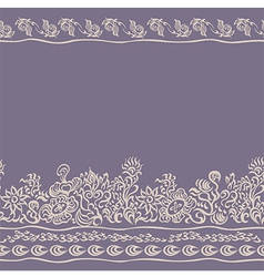 Decorative background seamless pattern vector